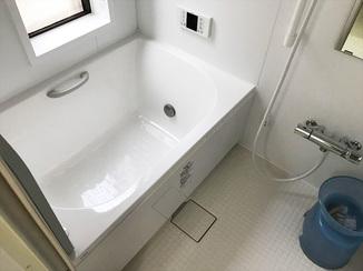 バスルームリフォーム 明るい空間で機能的にも充実した水廻りリフォーム