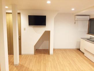 キッチンリフォーム 三世帯が集うスペースは、壁を撤去し空間を広げたゆとりのLDK