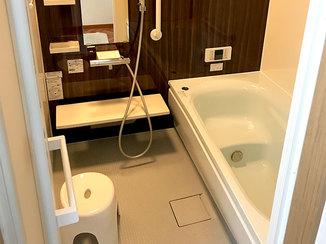 バスルームリフォーム お手入れがしやすく明るい雰囲気の水廻り