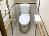 トイレリフォーム費用を抑えながらも掃除しやすくしたトイレ