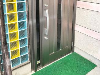 エクステリアリフォーム アルミ仕様の傷みにくい玄関ドア